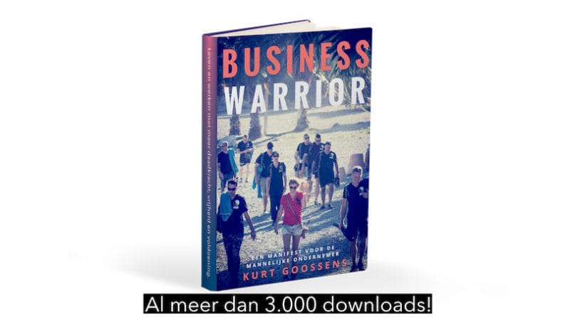 business warrior boekcover