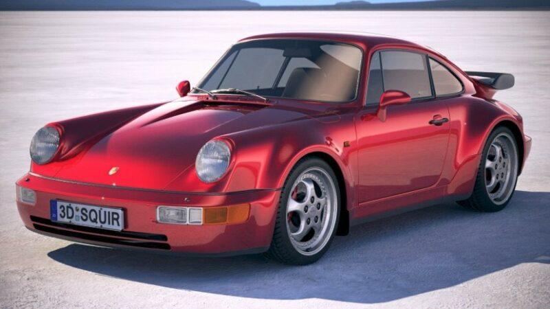Porsche 911 964 kurt goossens' droom